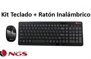 Kit Teclado + Ratón Inalámbrico NGS