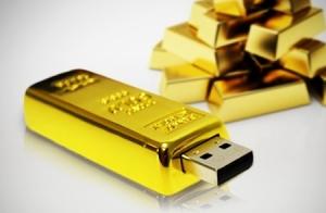 USB Lingote de oro 16 ó 32 GB