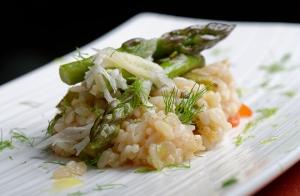 Menú especial de arroz en el Hotel Silken Coliseum
