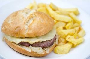 Menú de hamburguesas para 2 en La Tasca