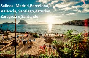 Ibiza: 5 o 7 noches con vuelo de i/v + traslados.