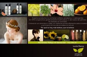 Sesión peluquería + tratamiento orgánico