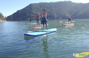 Paddle Surf o  Sup Yoga Pilates