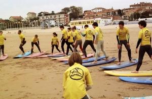 Curso de fin de semana de Surf